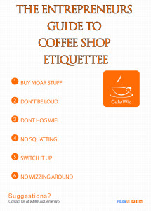 Coffee Shop Etiquettee Digital Nomads