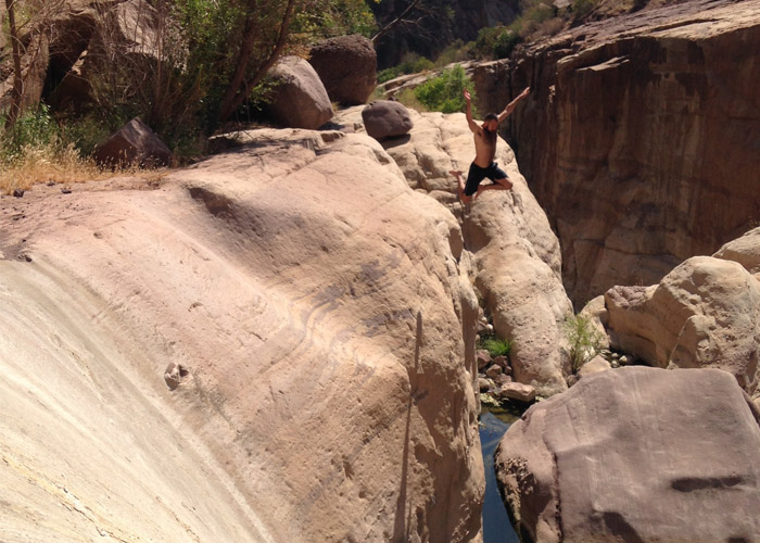 tar creek cliff jump