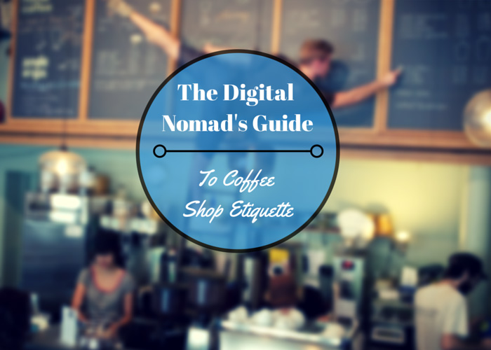 coffee shop etiquette