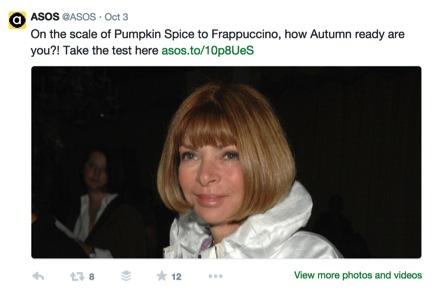ASOS Autumn Quiz