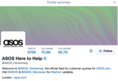 ASOS Here To Help Twitter