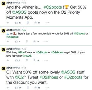 ASOS Twitter Contest