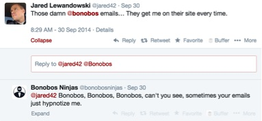 Bonobos Emails