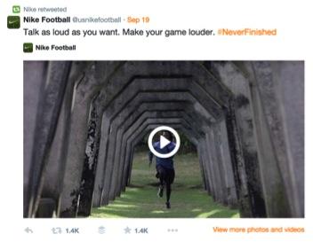 Nike Football Twitter