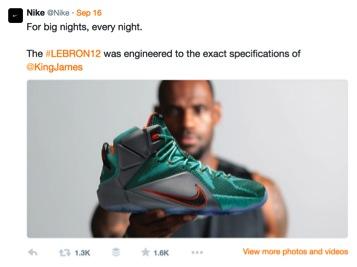 Nike Lebron Twitter