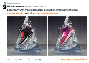Nike Twitter Marketing