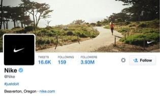 Nike Twitter