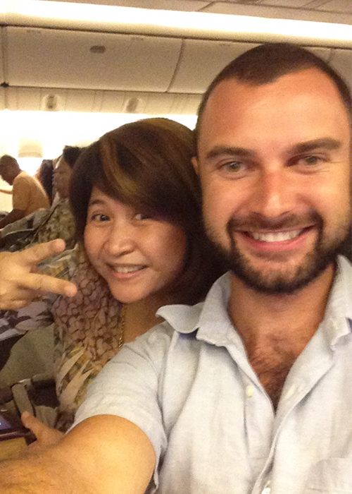 Flight to Bangkok