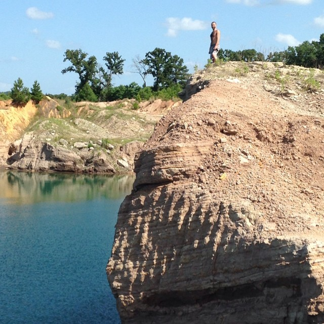 cliff-diving-texas
