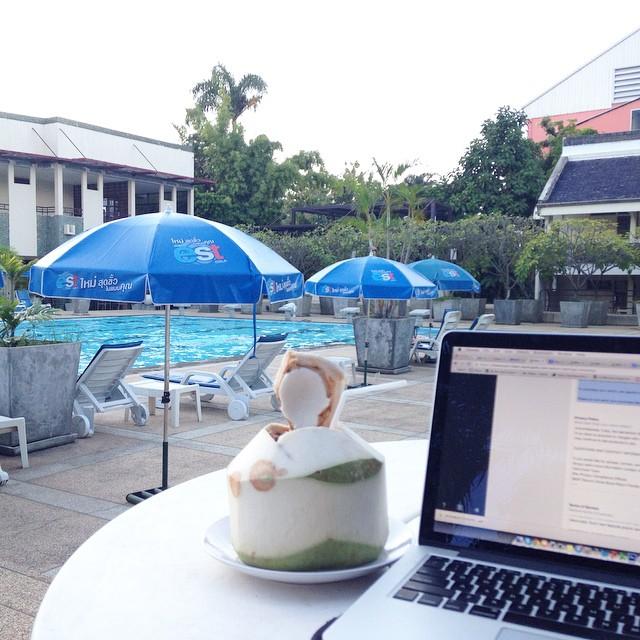 ตำลำยำแซ่บ eco resort chiang mai