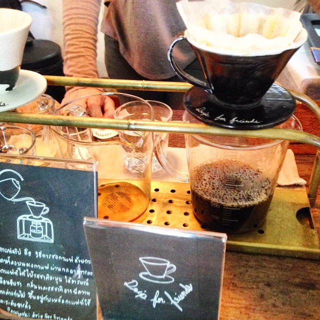 Delicious Drip Coffee #Chiangmai
