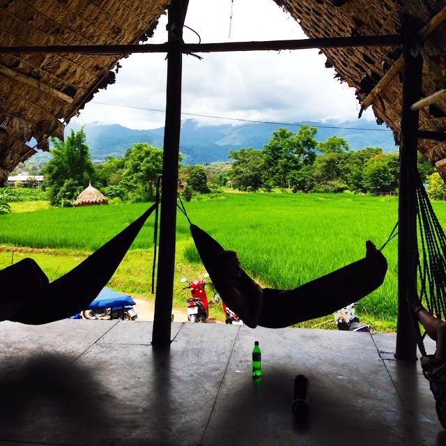hammock town pai thailand