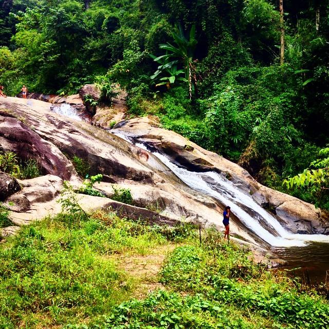 pai waterfall slide
