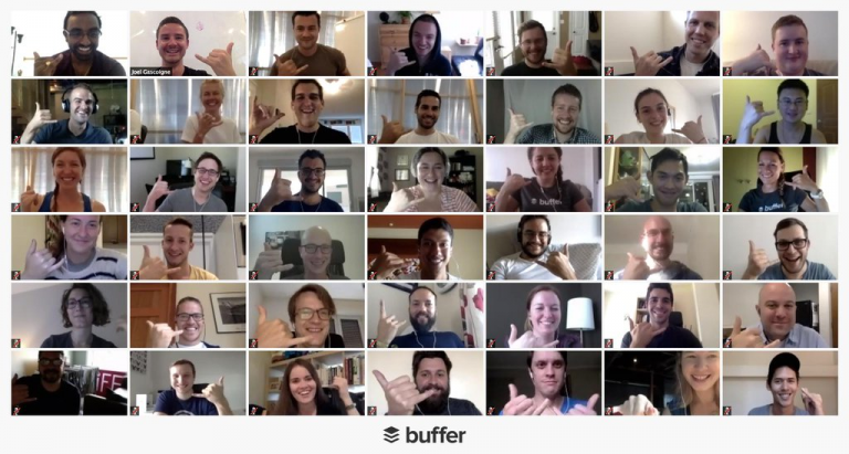 buffer remote employees