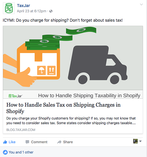 shopify sales tax